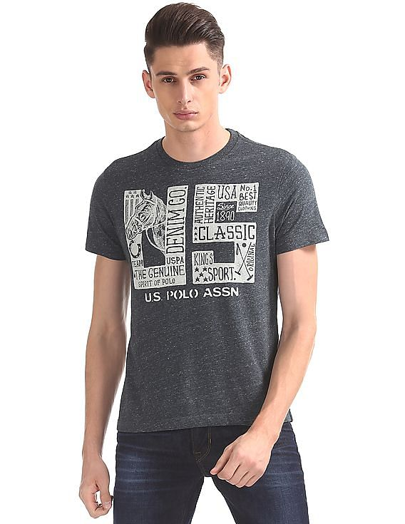9f09e4d4 Buy Men Muscle Fit Printed T-Shirt online at NNNOW.com