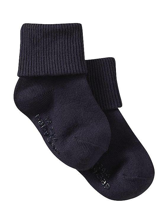 gap toddler boy toddler girl triple roll socks