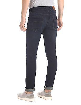 Cherokee Blue Skinny Fit Dark Wash Jeans