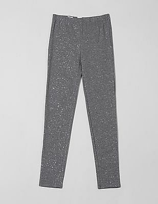 GAP Girls Stretch Jersey Sparkle Leggings