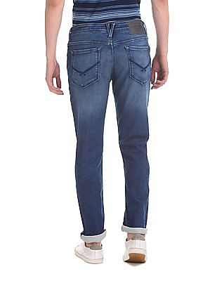 U.S. Polo Assn. Denim Co. Blue Brandon Slim Tapered Fit Stone Wash Jeans