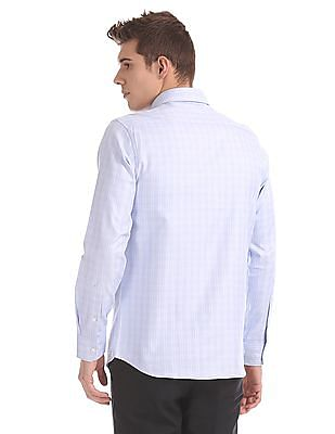 USPA Tailored Regular Fit Check Shirt