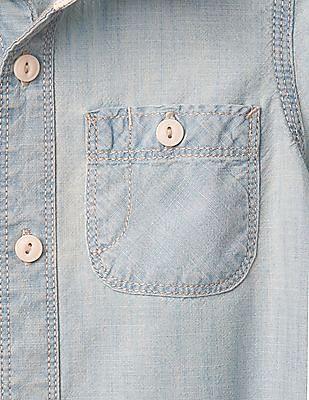 GAP Baby 1969 Chambray Shirt