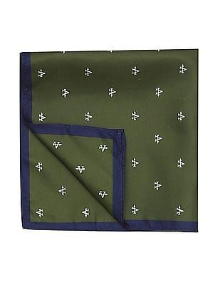 Arrow Brand Print Pocket Square