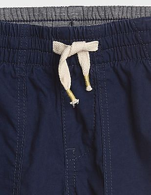 GAP Baby Pull-On Utility Shorts In Twill