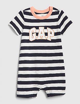 GAP Baby Stripe Logo Shorty One-Piece