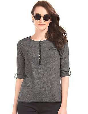 Cherokee Grindle Effect Top