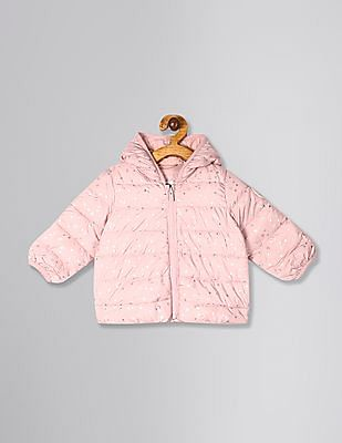 GAP Pink Baby Girl ColdControl Puffer Jacket