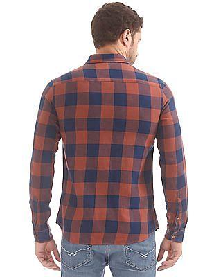 U.S. Polo Assn. Denim Co. Slim Fit Check Shirt