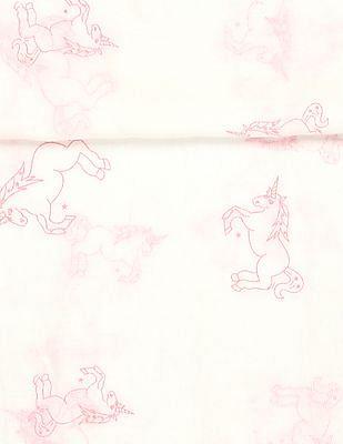 SUGR White Unicorn Print Stole
