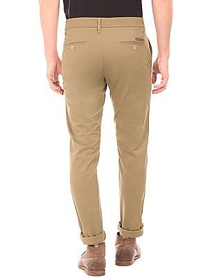 Ruggers Low Rise Slim Fit Trousers