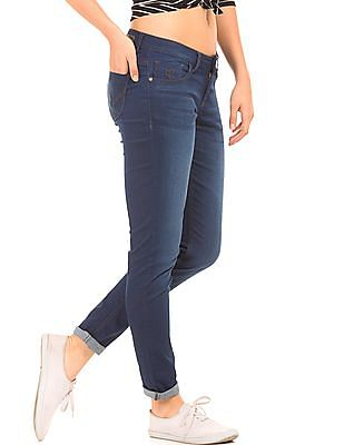 Flying Machine Women Rinse Washed Slim Fit Jeans