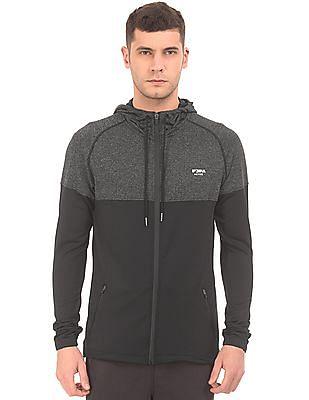USPA Active Heathered Panel Active Sweatshirt