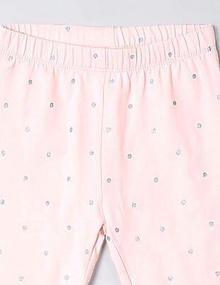 GAP Toddler Girl Print Leggings In Stretch Jersey