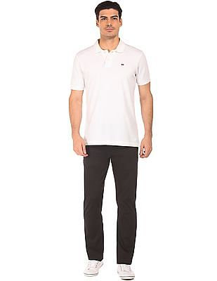 Ruggers Slim Fit Flat Front Chinos