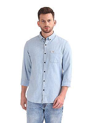 U.S. Polo Assn. Denim Co. Button Down Patterned Shirt
