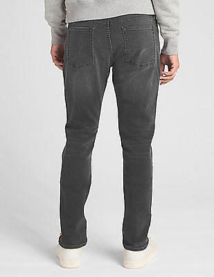GAP Men Grey Slim Fit GapFlex Soft Wear Jeans