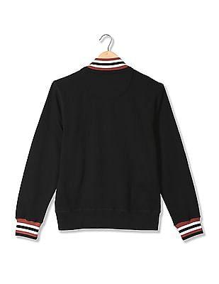 Izod Full Sleeve Zip Up Sweatshirt