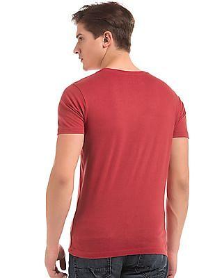 Colt Printed Slim Fit T-Shirt