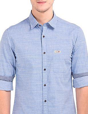 U.S. Polo Assn. Denim Co. Slim Fit Striped Shirt