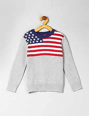 GAP Boys Graphic Pullover Sweater