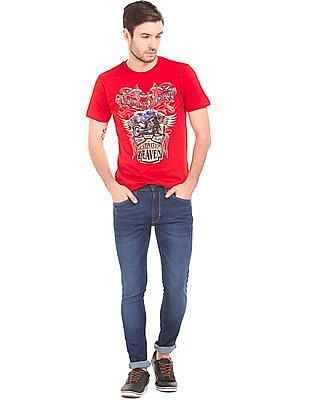 Cherokee Stone Washed Skinny Fit Jeans