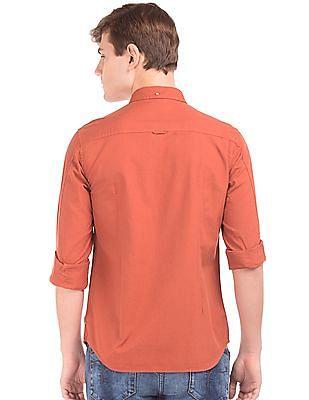 Flying Machine Slim Fit Button Down Shirt