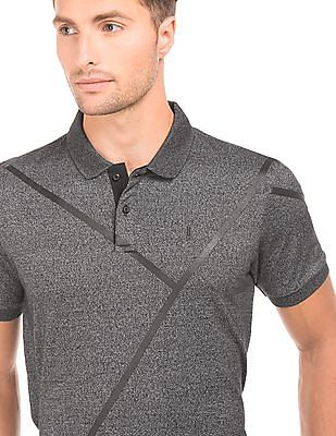 Arrow Newyork Heathered Regular Fit Polo Shirt