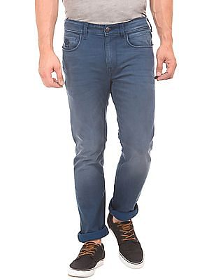 U.S. Polo Assn. Denim Co. Skinny Fit Washed Jeans