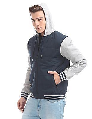 Aeropostale Regular Fit Hooded Jacket