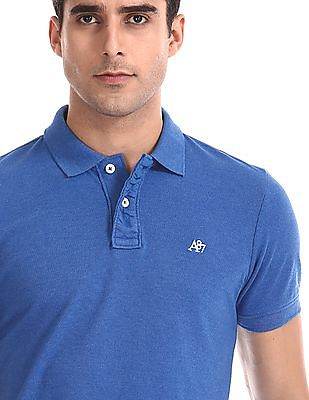 Aeropostale Regular Fit Solid Polo Shirt