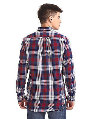 Gant Original Windblown Flannel Plaid Button Down Shirt
