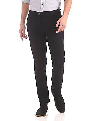 Ruggers Tapered Fit Flat Front Trousers
