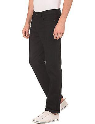 Aeropostale Slim Straight Fit Rinsed Jeans