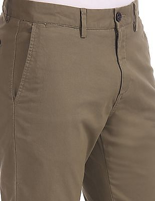 U.S. Polo Assn. Slim Fit Twill Weave Chinos