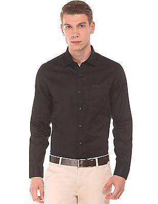 Elitus Solid Regular Fit Shirt