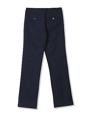 Nautica Wide Leg Trouser With Back Tie Detail