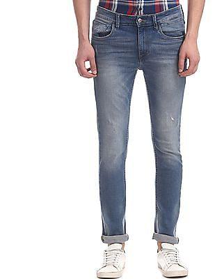 U.S. Polo Assn. Denim Co. Blue Regallo Skinny Fit Mid Rise Jeans