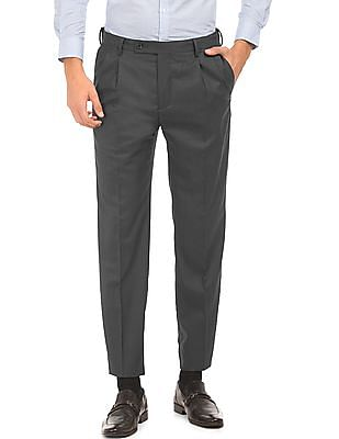 Arrow Pleated Front Smart Fit Trousers
