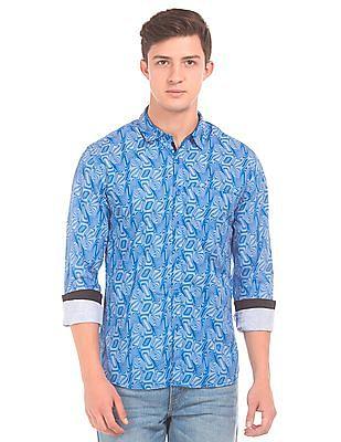 Colt Printed Regular Fit Shirt
