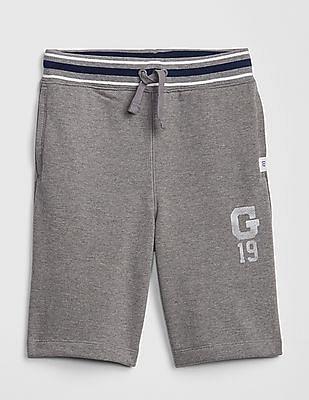 GAP Grey Boys Gap Logo Pull On Shorts