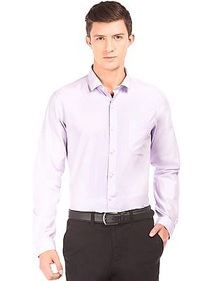 Excalibur French Placket Slim Fit Shirt