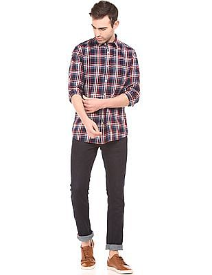 Izod Check Slim Fit Shirt