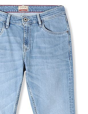 Arrow Sports James D Slim Fit Washed Jeans