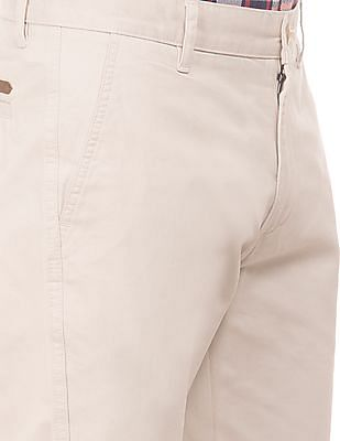 Ruggers Slim Fit Solid Trousers