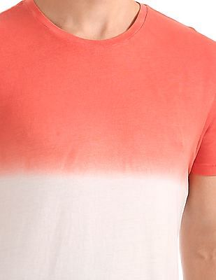 Flying Machine Ombre Dyed T-Shirt