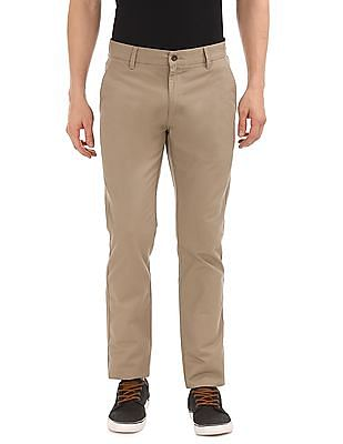 Ruggers Slim Fit Flat Front Trousers
