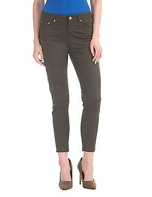 Aeropostale High Waist Cropped Jeans