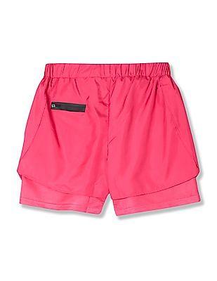 Cherokee Boys Solid Active Shorts