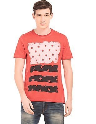 Izod Printed Slim Fit T-Shirt